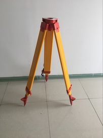 China Total Station Accessories total station common use heavy wooden tripod factory
