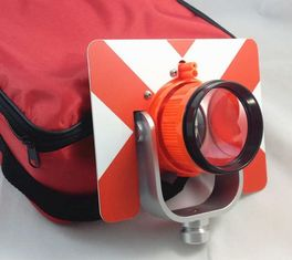 China Total Station Accessories NEW RED Single Prism w/ Bag for total station factory