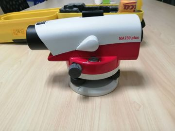 Leica Na700plus Automatic Level Machine Red / White Color For Surveying Instrument