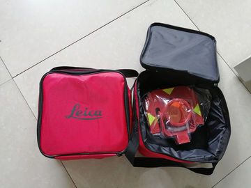 Leica Brand GPR111 Prism For Total Station With Red / Yellow Holder