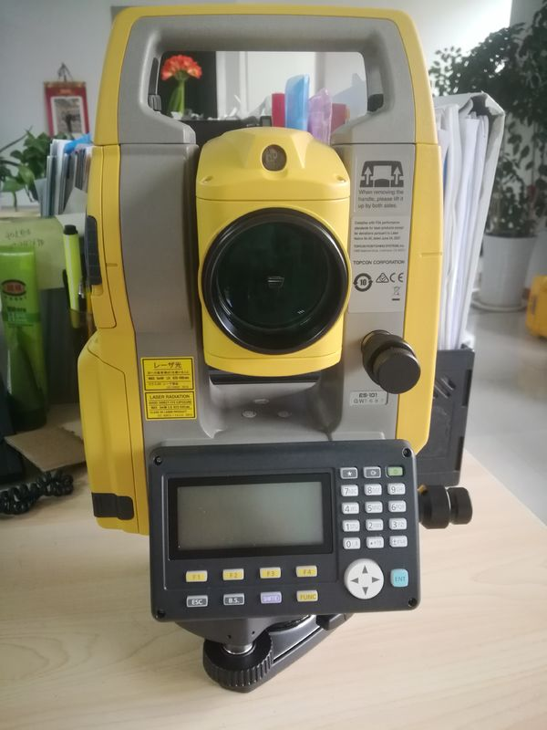 Topcon ES101 series Reflectorless Total Station 500m for landsurvey