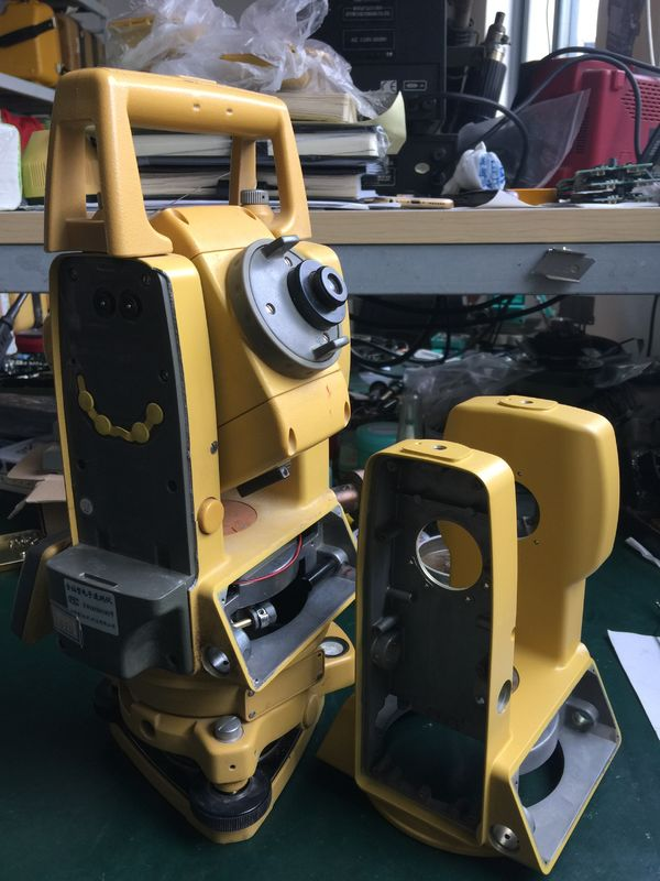 Total station repair service Topcon GTS-102N various problems maintenance