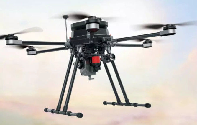 UAV Mapping Drone Foldable Six Rotor Oil Electricity Hybrid Mapping UAV drone XQL12 Series