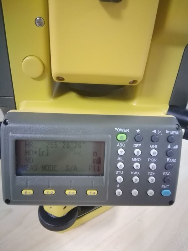 Keyboard Display of The Topcon GTS102N Total Station Topcon Brand