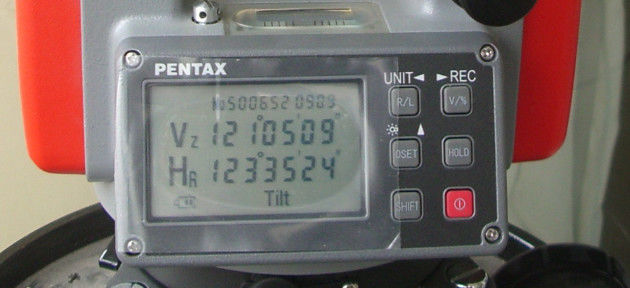Digital Theodolite Parts Pentaxt ETH-502 Theodolite Display Parts supplier