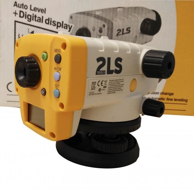 Topcon 2LS New Model Orion Digital Level AT-100D / AT-124D Yellow Color supplier