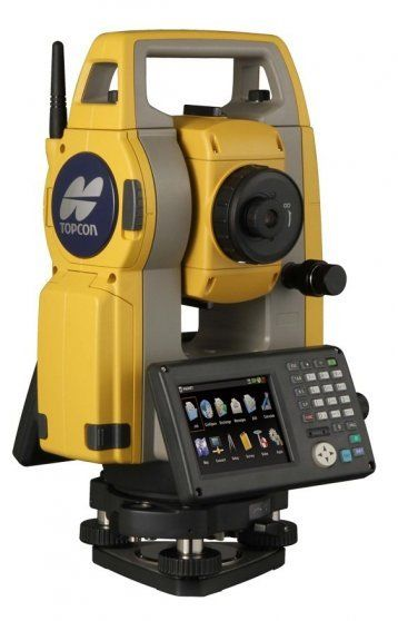 Topcon OS-105 Bluetooth Touchscreen Total Station with Magnet Onboard