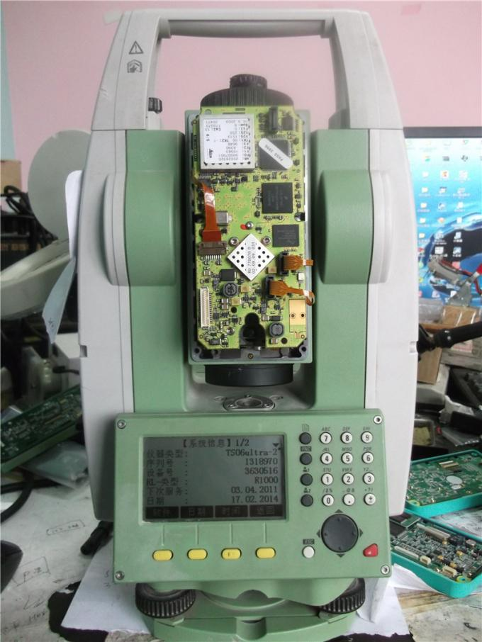 Total station repair service Leica TS06 various problems maintenance
